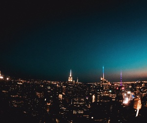 cities, new york, and new york city image