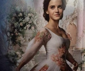 beauty and the beast, emma watson, and belle image