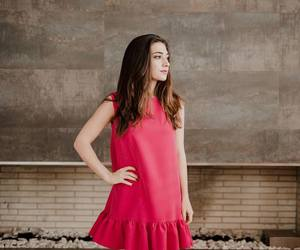 clothes, ventino, and red dress image