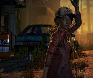 clementine, the walking dead the game, and the game image