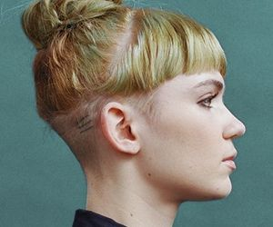 grimes and hair image