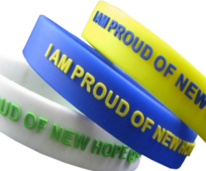 silicone wristbands, wristbands manufacturer, and rubber wristbands image