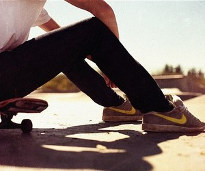 boy, chill out, and skate image