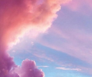 pink, wallpaper, and sky image