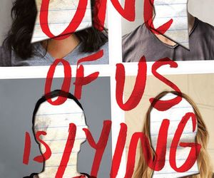 book and one of us is lying image