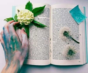 book, creative, and flover image