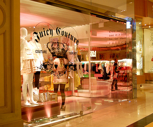 juicy couture, pink, and store image