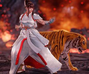 fighting, tekken, and kazumi image
