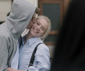 skam, love, and couple image