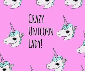 unicorn, crazy, and love image