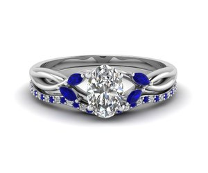 wedding ring sets, fascinating diamonds, and sapphire engagement rings image
