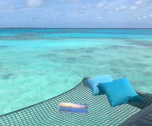 summer, Maldives, and travel image