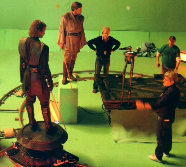 Behind The Scenes Of Revenge Of The Sith Final Battle Scene