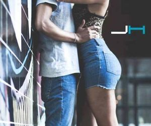 couple, kiss, and romantic image