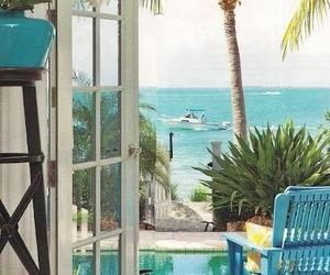 beach, holiday house, and beach house image