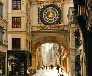 france, city, and street image