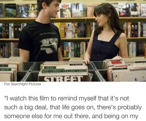 500 Days of Summer, breakup, and happy image
