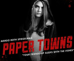 paper towns, cara delevingne, and bad blood image