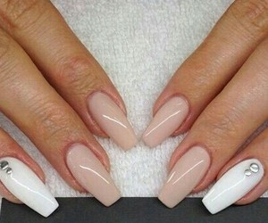 diamonds, girly, and long nails image