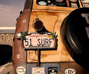 surf, california, and summer image