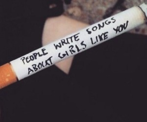 cigarette, grunge, and quotes image