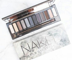makeup, naked, and urbandecay image