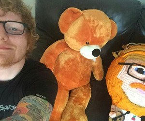 ed sheeran, ed, and tattoo image