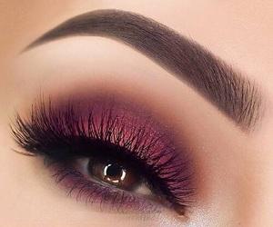 makeup, eye, and beautiful image