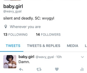 twitter and wavygyal image