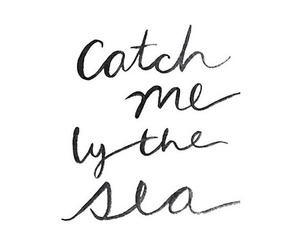 quotes, sea, and summer image