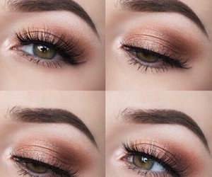 make up and peach image