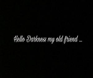 Darkness, disturbed, and Lyrics image