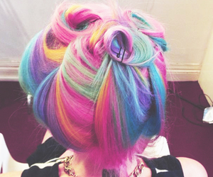 cabelos, colors, and hair image