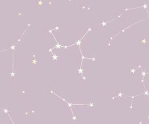 background, constellation, and stars image