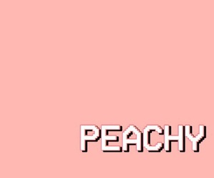 background, peach, and quotes image