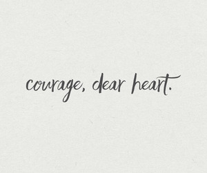 courage, frases, and quotes image