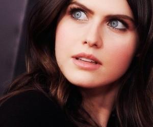 eyes, hair, and alexandra daddario image