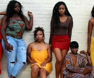 black woman, squad, and black girl magic image