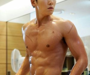 abs, ji chang wook, and actor image