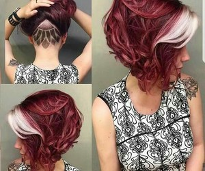curls, redhead, and cut image