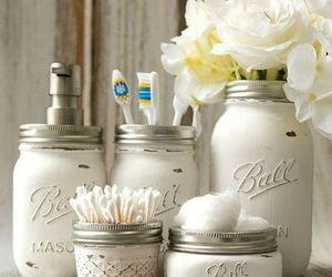 decor, diy, and mason jar image