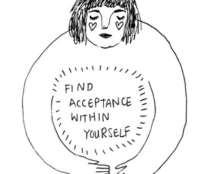 quotes, acceptance, and art image