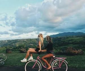 bike, green, and life image