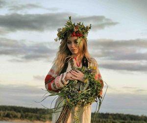 pagan and slavic image
