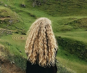 long hair, pagan, and photography image