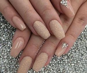 bright, diamonds, and nail nails nailart image