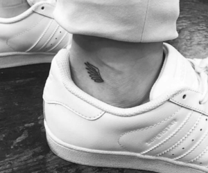 Tattoos, wing, and ankle tattoo image