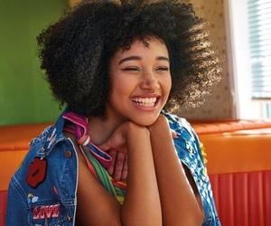 amandla stenberg, beauty, and smile image
