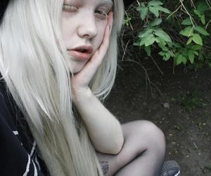 albino, black, and россия image