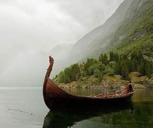 vikings and nature image